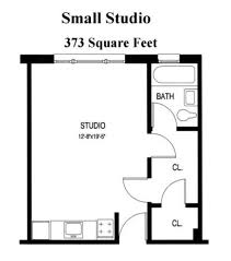 Small Studio Apartment Layout Ideas Download Studio Apartment Floor Plan Home Intercine