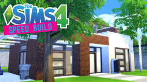Industrial Modern House The Sims 4 Speed Build Modern Industrial Starter Get Together