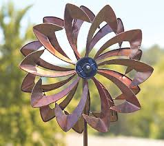 wind spinners with led lights plow hearth 6 ft wind spinner with solar led lights solar led