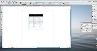 Changing Table Width Indesign Chapter 5 Tables 5 Adjust Width Of Columns In A