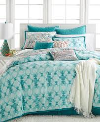 10 Pc Comforter Set Closeout Kelly Ripa Home Fretwork Aqua 10 Piece Reversible