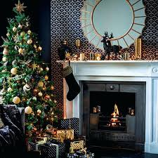 fireplace mantel christmas decorating ideas photos decorations for