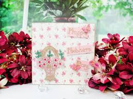 how to make a die cut card for mother u0027s day hobbycraft blog