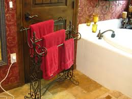 Free Standing Towel Racks For Small Bathrooms Best Bathroom Towel Display For Your Neat Bathroom Myohomes