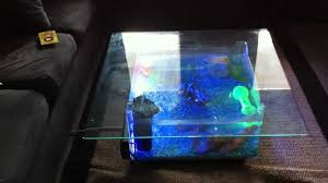 Living Room Table For Sale Fish Tank Living Room Table Into The Glass Awesome Interior