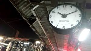 indian railway station funny clock youtube