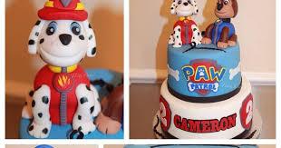 tlite cakes planning paw patrol cake marshall chase