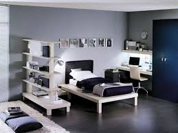 bedroom cool black white bedroom design with square black