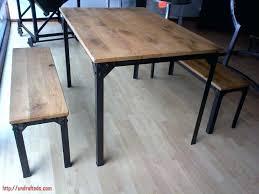 bureau bois acier table bureau bois permalink to 23 table bois et acier table bureau