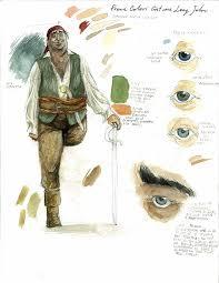 treasure island book report treasure island characters studio on behance
