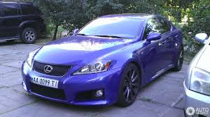 lexus isf blue lexus is f 26 december 2016 autogespot