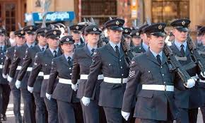 is it just me or does the royal air force raf uniform look like