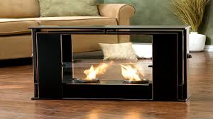 furniture gorgeous ideas of freestanding fireplace designs in