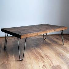 Zara Side Table Side Table Rustic Vintage Industrial Solid Wood Coffee Table