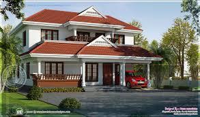 4 bedroom kerala model house in 2020 square feet kerala home
