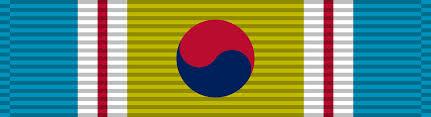 korean service ribbon file republic of korea war service medal ribbon png wikimedia