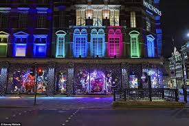 harvey nichols christmas window display 2015 blog de window