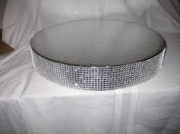 16 Inch Pedestal Cake Stand Cake Stand 18 Inch Dazzling Diamonds Bling Cake By Bezinnovations