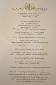 the kitchen table menu madison house chef charlie trotter s kitchen table