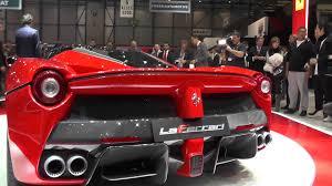 laferrari back laferrari rear wing retracting