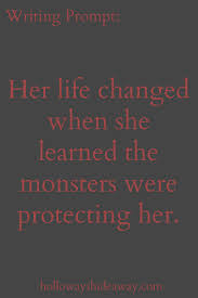The Monster Under The Stairs by Kids Writing Prompts Feb2017 Her Life Changed When She Learned The
