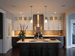 Kitchens With Light Cabinets Kitchen White Cabinets Gray Island Light Kitchen On Top And