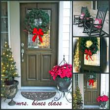 Red Ribbon Door Decorating Ideas Outdoor Decorations That Are Simply Magical Give Front Door City