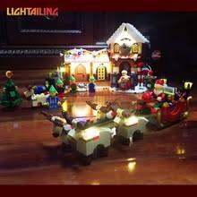 lighted santa s workshop advent calendar buy santa s workshop and get free shipping on aliexpress com