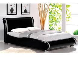 bedroom engaging bella modern bed wooden gloss white
