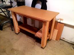 ana white simple work bench diy projects