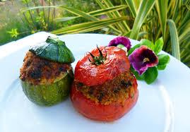 basilic cuisine tomates et courgettes farcies au basilic toqués 2 cuisine