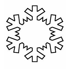 6 best images of snowflake outline printable printable snowflake