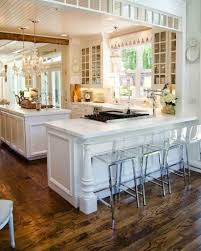 kitchen room white beige wood glass modern retro kitchens
