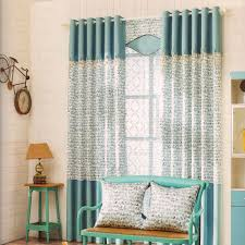 Asian Curtains Bicycle Pattern Cotton Splicing Asian Curtains 2016 New Arrival
