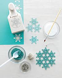 eric pike s glittered snowflake ornaments snowflake ornaments
