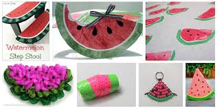 30 watermelon crafts about family crafts