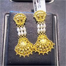 bengali gold earrings gold jewellery manufacturer fancy gold jewellery supplier west