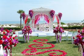 Indian Wedding Decoration Amelia Island Fl Indian Fusion Destination Wedding By Nayeem