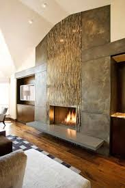 seetrue contemporary fireplace with huge modern wall flush glass