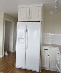 how to trim cabinet above refrigerator 36 x 15 x 24 above fridge wall kitchen cabinet momplex