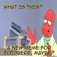 Why Not Zoidberg Meme - tired of zoolander meme why not zoidberg by unknownjedi meme