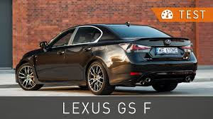 lexus v8 pictures lexus gs f 5 0 v8 477 km 2016 test pl review eng sub