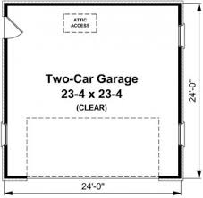 Garage Measurements How Big Should My Garage Be Maple Shade Construction