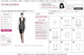 kleidung selber designen kleider designtool styleshake offline individuelle mode