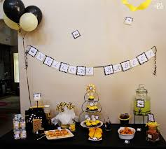 bumble bee decorations bumble bee renee s soirees