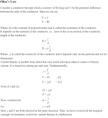 cbse class 12th physics notes current electricity part i cbse