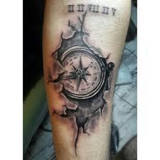 one piece compass tattoo compass tattoo cracked tattoo black and gray tattoos pinterest