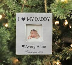 christmas ornament i love my daddy personalized christmas