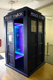 rent photo booth a sized replica of a call box fully equipped