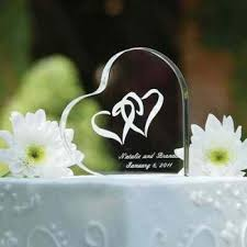 Engravable Wedding Gifts Heart Shape Crystal Wedding Gifts Engraved Wedding Favors Custom